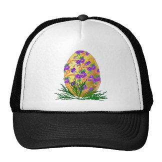 Flower Decorated Egg Trucker Hats