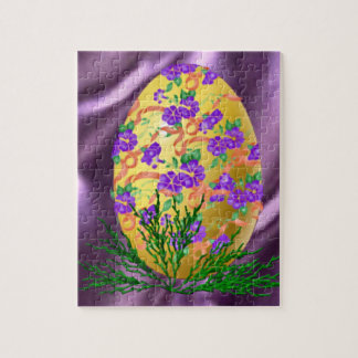 Flower Decorated Egg Puzzles