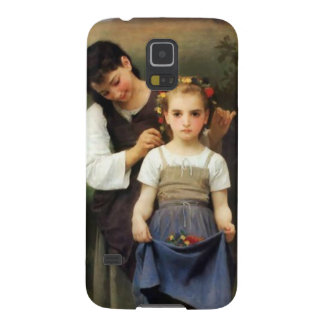Flower decoration galaxy s5 covers