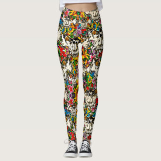 Flower Demon Leggings