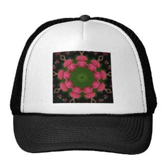Flower Design by Carole Tomlinson Trucker Hats