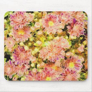Flower Design Mouse Pad