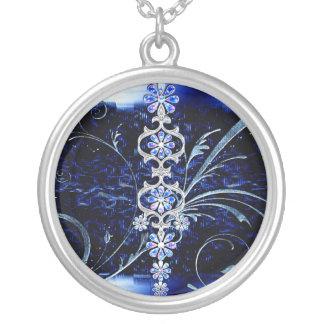 Flower design custom necklace