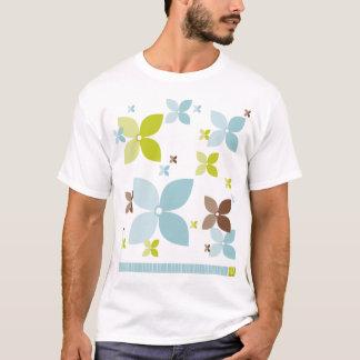Flower Design T-Shirt