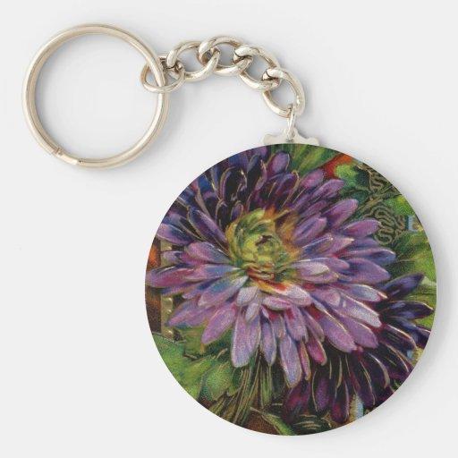 Flower Detail Keychain