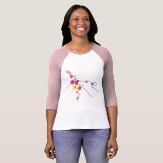 Flower dog T-Shirt