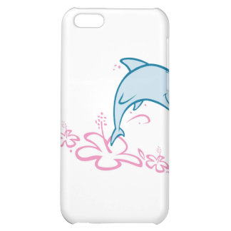 Flower Dolphin iPhone 5C Cover