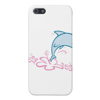 Flower Dolphin iPhone 5 Covers