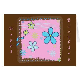 Flower Doodles Card