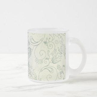 Flower Doodles Coffee Mugs