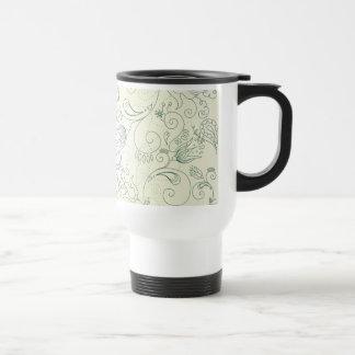 Flower Doodles Mugs