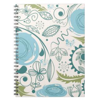 Flower Doodles Notebooks