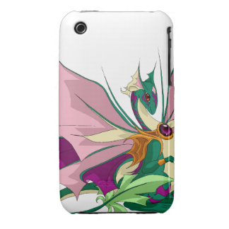 Flower Dragon iPhone 3G/3Gs Cover