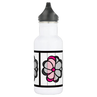 Flower Drawing 532 Ml Water Bottle