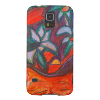 Flower Dreaming Kitty Galaxy S5 Case