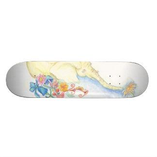flower elephant skateboard