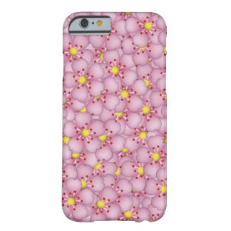 Flower Emojis Barely There iPhone 6 Case