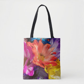 Flower Explosion Tote Bag