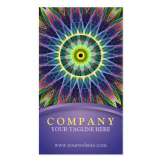 Flower Eye Mandala Pack Of Standard Business Cards