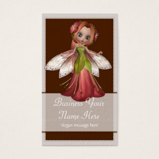 Flower Fairy D1 Fantasy Whimiscal Business Cards