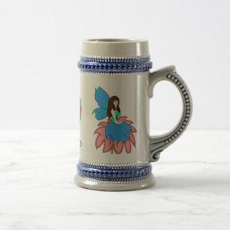flower fairy, dragon fairy copy, fairy moon   mug