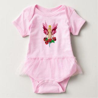 Flower Fairy Fantasy Design Baby Bodysuit