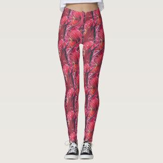 Flower fairy print leggings