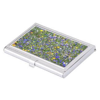 """""""Flower Field"""" Business Card Holder"""