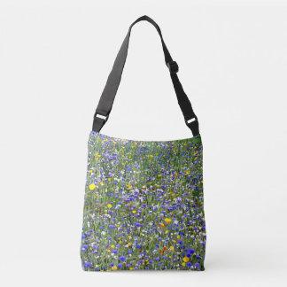 """""""Flower Field"""" Cross Body Bag"""