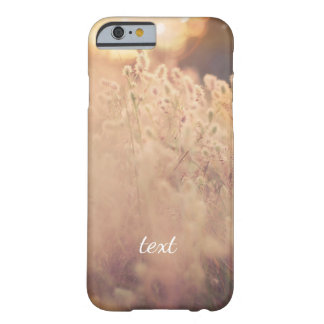 Flower Field Rustic Country Sunset Dusk Barely There iPhone 6 Case