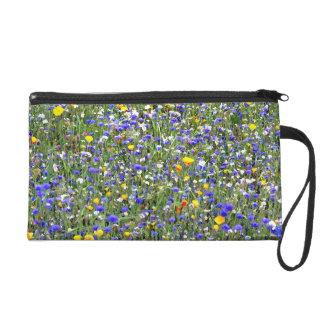 """""""Flower Field"""" Wristlet"""