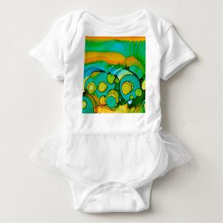 flower fields baby bodysuit