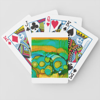 flower fields bicycle playing cards