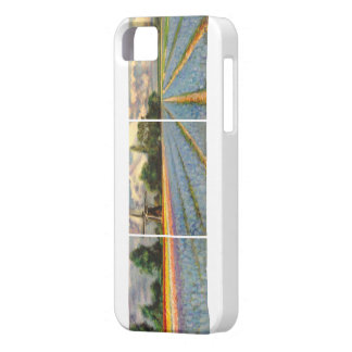 Flower Fields Landscape Painting Barely There iPhone 5 Case