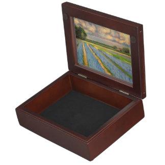 Flower Fields Triptych Fine Art Box 3 of 3 Memory Boxes