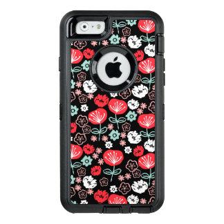 Flower - Floral Black Mint Pink / Andrea Lauren OtterBox iPhone 6/6s Case