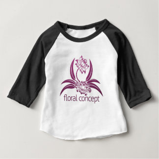 Flower Floral Design Baby T-Shirt