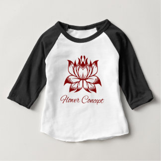 Flower Floral Design Concept Icon Baby T-Shirt