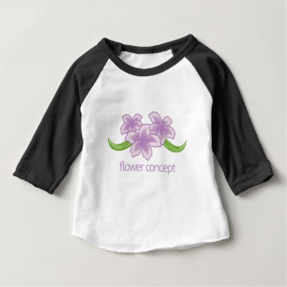 Flower Floral Florist Icon Baby T-Shirt