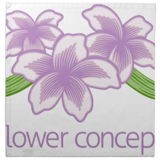 Flower Floral Florist Icon Napkin