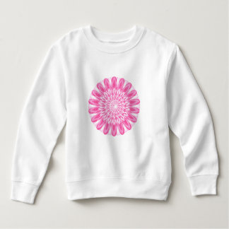 Flower Floral Pink Kids Children Boys Girls Mum Gi Sweatshirt