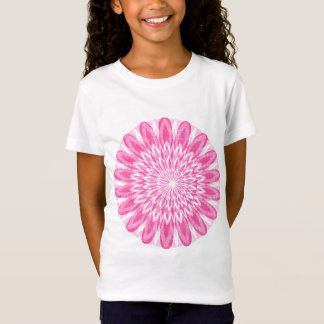 Flower Floral Pink Kids Children Boys Girls Mum Gi T-Shirt