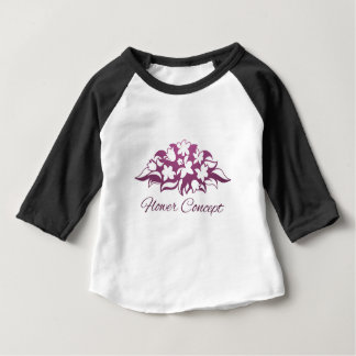 Flower Florist Floral Design Icon Baby T-Shirt