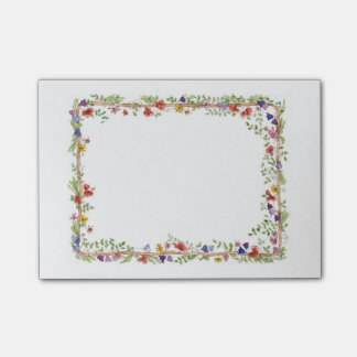 Flower Frame Post-it Notes