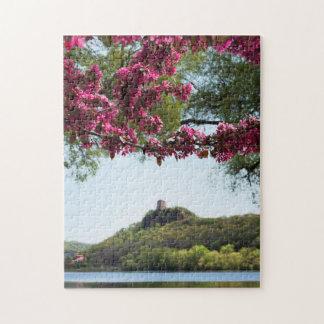 Flower Framed Sugarloaf Puzzle
