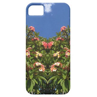 Flower Frangipani Print Case For The iPhone 5