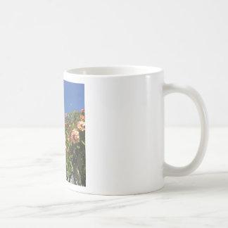 Flower Frangipani Print Coffee Mug