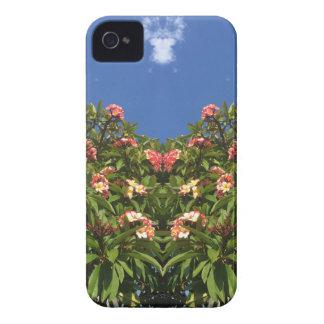 Flower Frangipani Print iPhone 4 Cover
