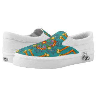 Flower Gaiety ~ Slip On Sneakers