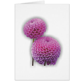 Flower Garden - Dahlia Card